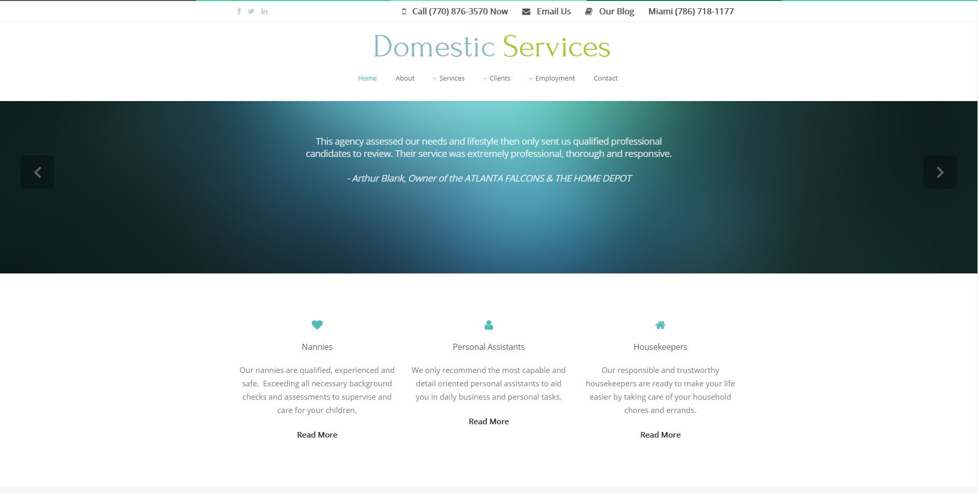 domestic-service-website
